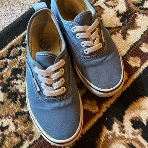 Blue Kids Vans Shoes
